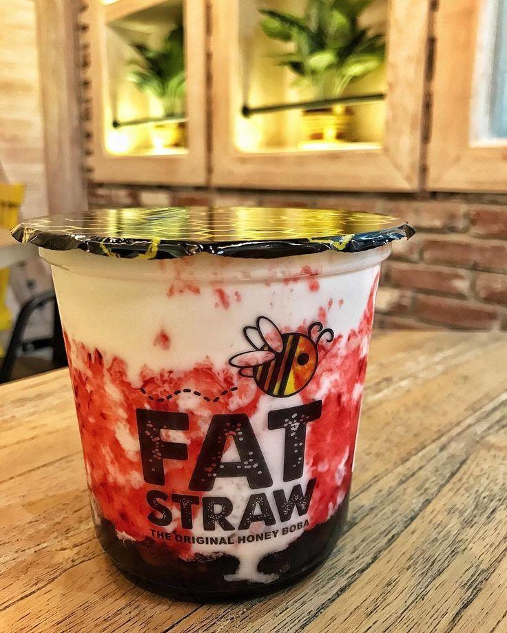 STRAWBERRY ICE MILK Bubble tea trong 2019 Thức ăn