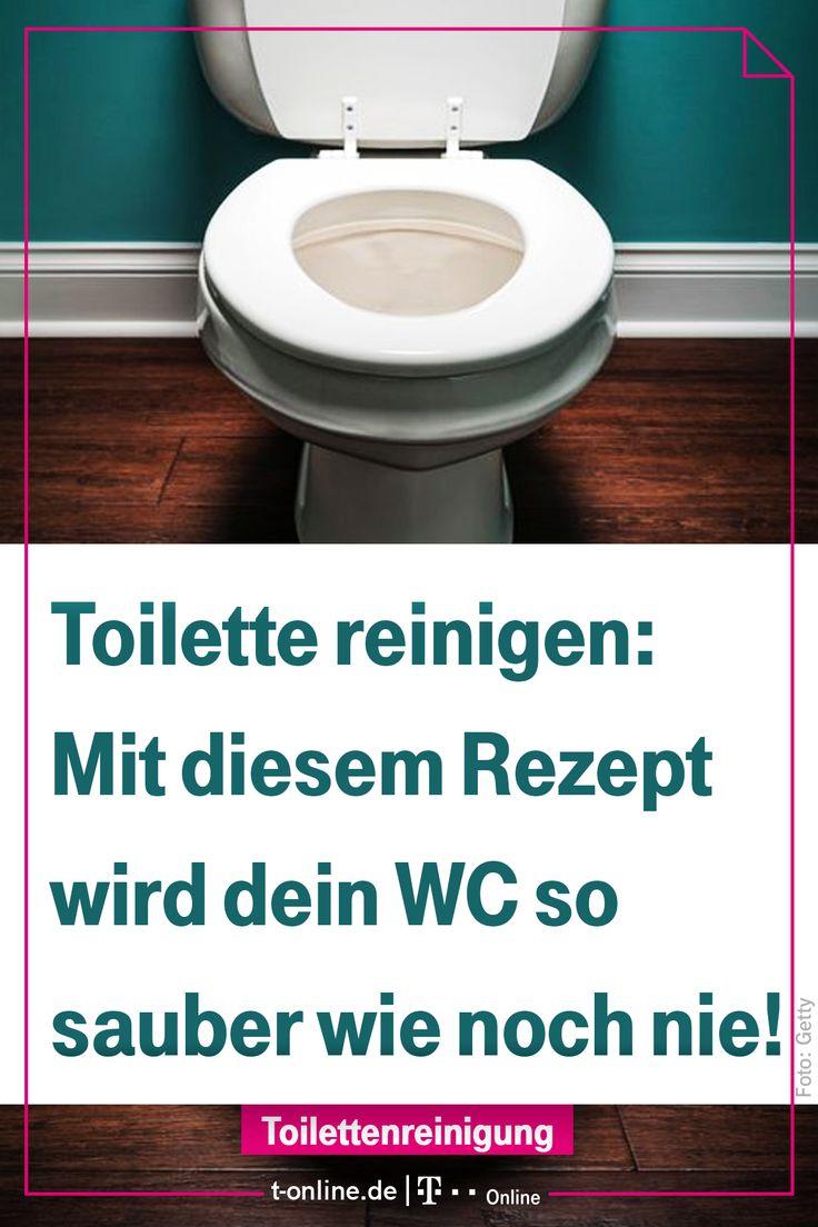Waschmittel macht das WC blitzblank