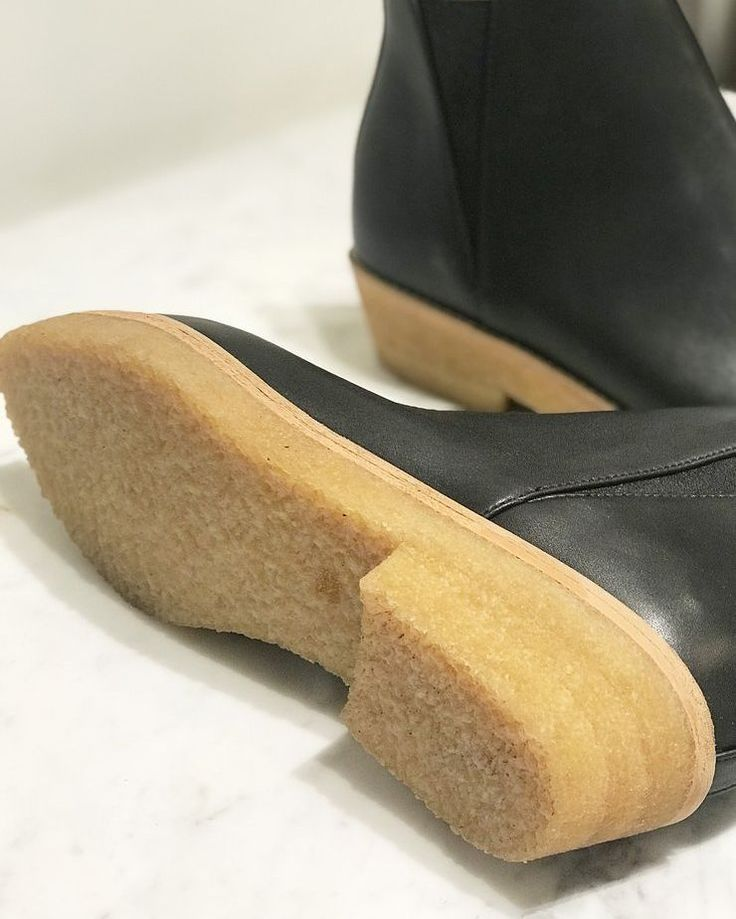 Crepe Rubber Sustainable Sole. Photo by Nicole Kwon Concept Store. Sydney Brown Luxury Vegan Footwear