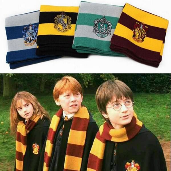 If you'd like to dress as a Hogwarts student, you'll need a house scarf to…