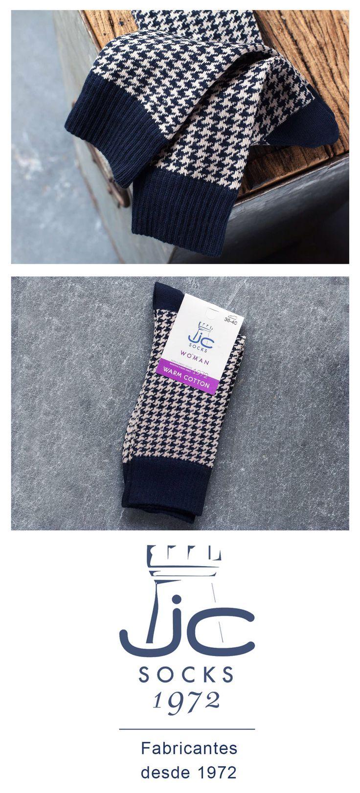 CAlcetines mujer estilo vintage invierno. Fabricantes de calcetines desde 1972