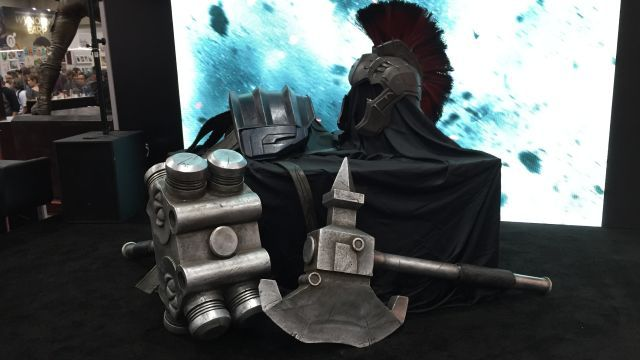 Gladiator Hulk Armor Revealed from Thor: Ragnarok!