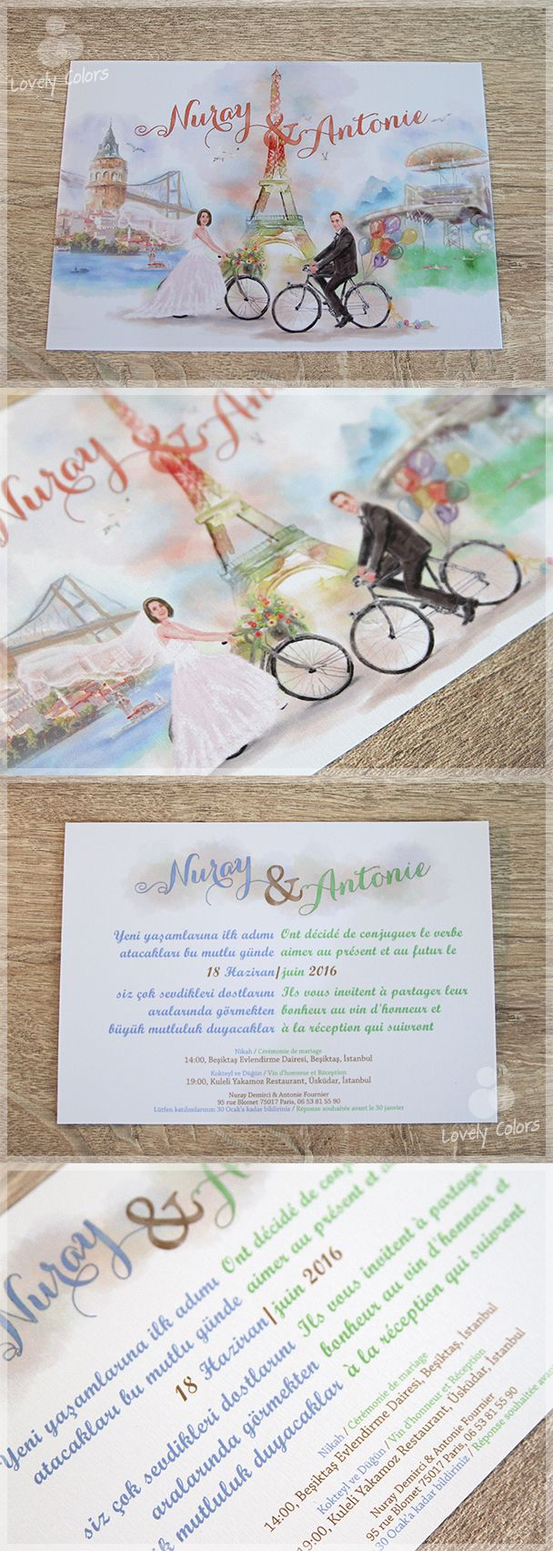 30 Best Dua Un Davetiyeleri Wedding Invitations By Lovely Colors