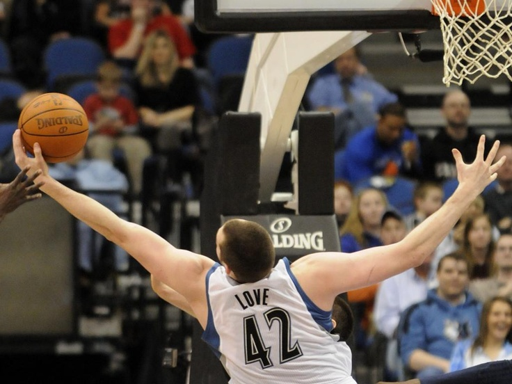 Kevin Love:  Forward, Minnesota Timberwolves.