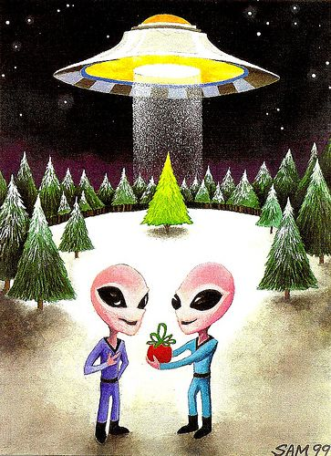 Pin by Marshall Coleman on Aliens, Christmas and Celestial ...