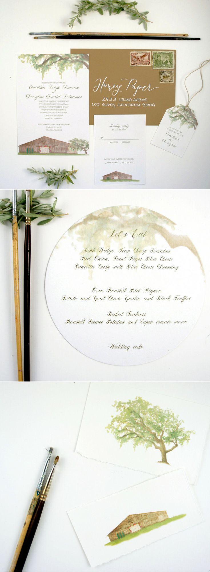 sample wedding invitation letter for uk visa%0A A Pastoral  u     Rustic Wedding Celebration
