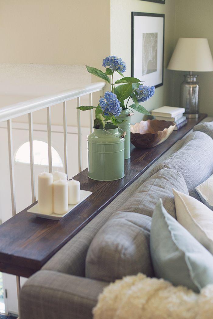 $30 DIY Sofa/Console Table Tutorial   Jenna Sue Design Blog   Bloglovin'