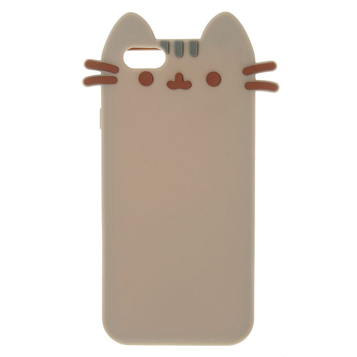 <P>This cute phone case from Pusheen is in the shape of our favorite internet sensation kitten Pusheen! Made from a soft silicone plastic for ultimate protection for your cell phone!</P><P><STRONG>Phone Case</STRONG> by <STRONG>Pusheen</STRONG></P><UL><LI>Fits iPhone 6/6S</LI><LI>Silicone</LI></UL>