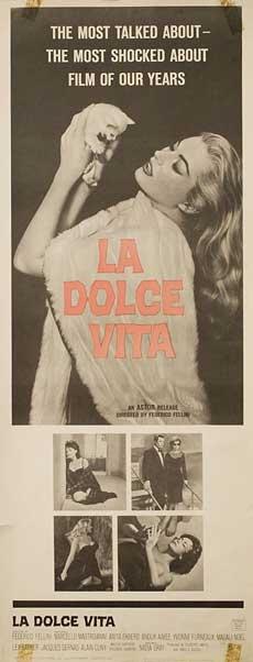 Posteritati: DOLCE VITA, LA 1960 U.S. 14X36