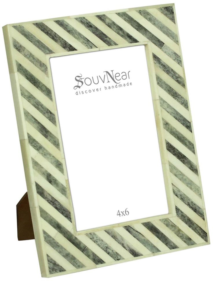 bulk buy 4x6 inches picture frame in pastel white and grey color wholesale handmade distressed