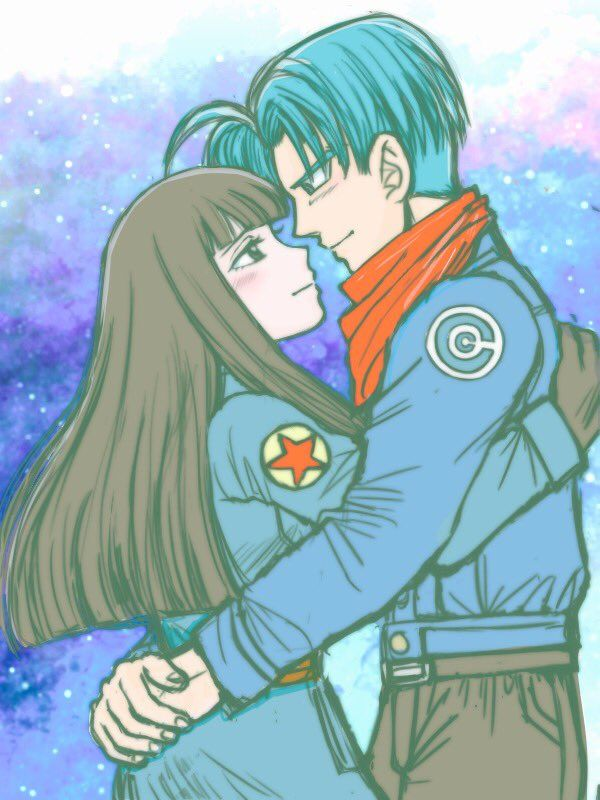 Trunks and Mai del futuro 2016 Dragon Ball Super