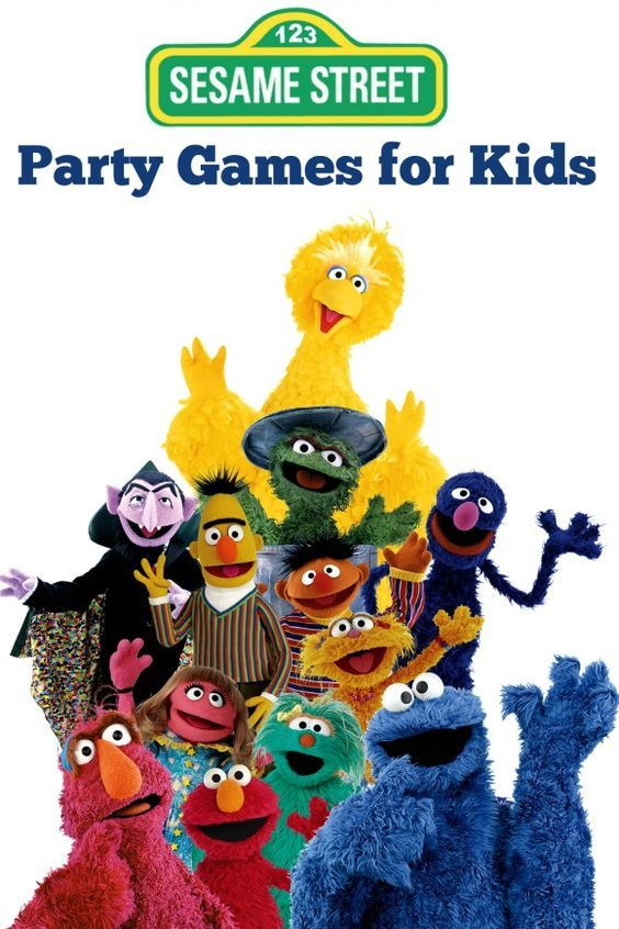 Sesame Street Toys For Toddlers : Sesame street party games for toddlers preschoolers