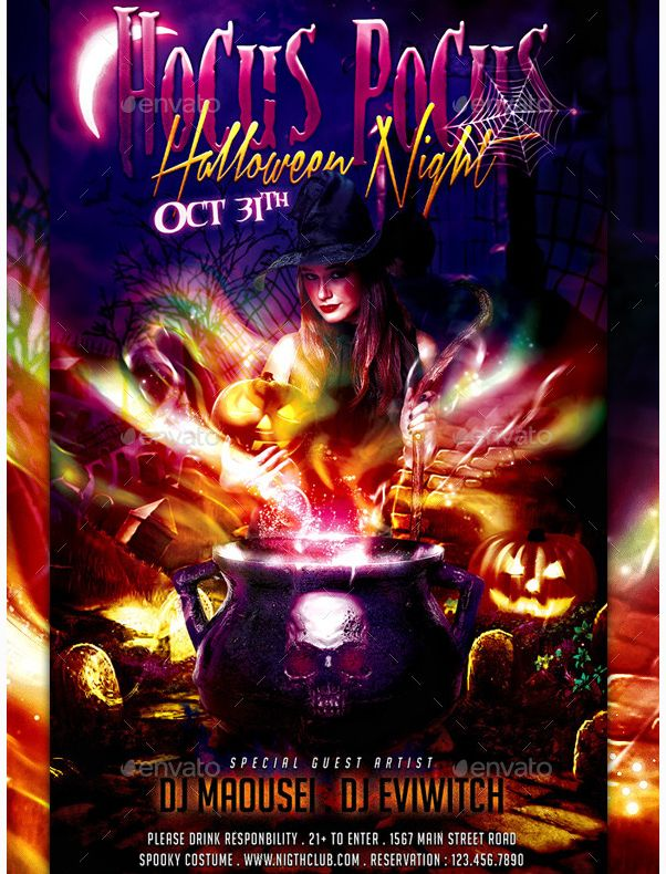 25 best Beautiful Halloween Flyer Templates images on Pinterest - emerald flyer template