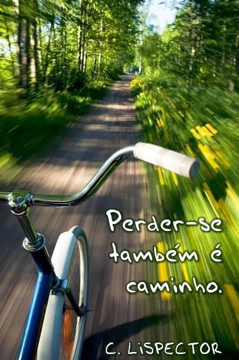 Perder-se também é caminho. Clarice Lispector http://www.gorditosenlucha.com/