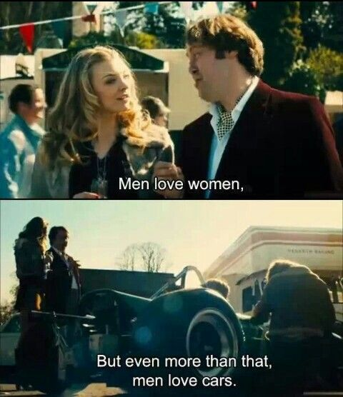 Men love women, but even  more than that, men love cars