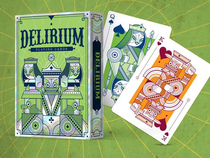 Delirium Deck - Live on Kickstarter from 1 Nov 2014 - Don't miss it! - https://www.kickstarter.com/projects/thirdwayind/delirium-playing-cards