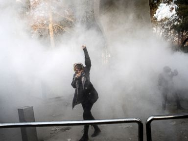 "ABC News - The Latest on protests in Iran (all times local): 3:45 p.m. The CEO of Telegram says Iran is ""blocking access ... for the majority of Iranians"" after protesters used the popular messaging app to plan and publicize demonstrations. CEO Pavel Duro"