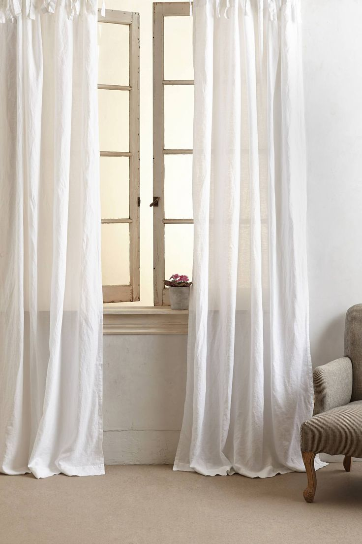 Garment Dyed Linen Curtain