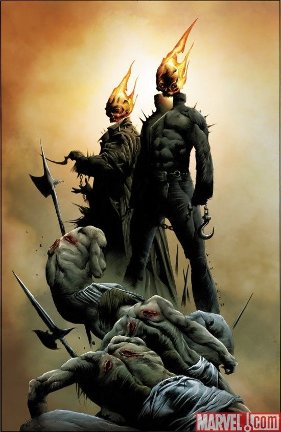 Ghost Riders: Heaven's On Fire by Jae Lee