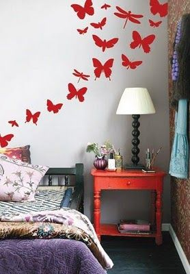 Great Idea for the girls room!