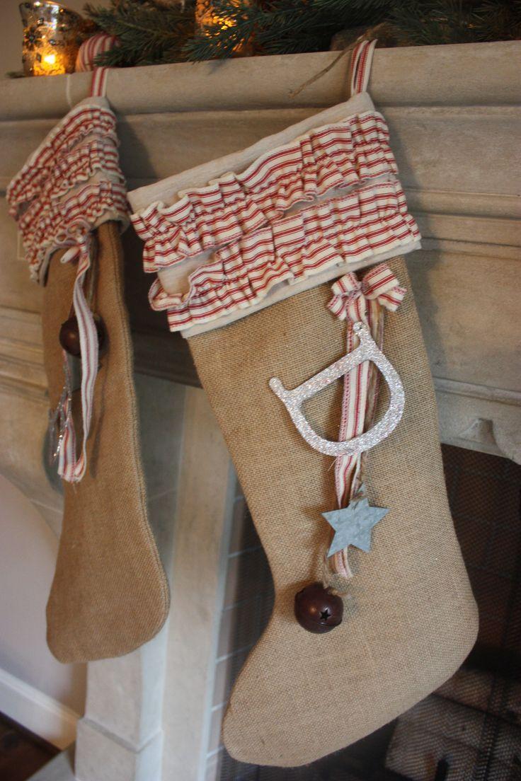 Christmas stocking decoration ideas - Stocking Made By Amy Woods Amy Lyons Lyons Lyons Lyons Woods Christmas Stockingchristmas Ideascountry