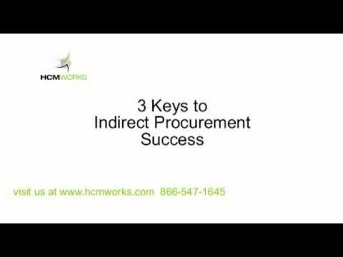 Indirect Procurement and Complex Services... where to begin. Listen to Andre Beaulieu, SVP Corporate Services with Bell Canada, describe 3 basic keys to gaining success within indirect procurement in any company.