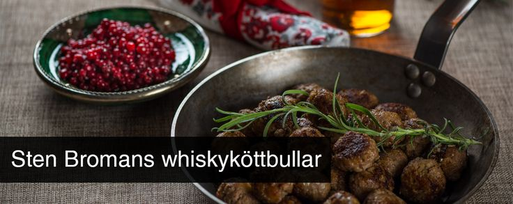 Sten Bromans whiskyköttbullar