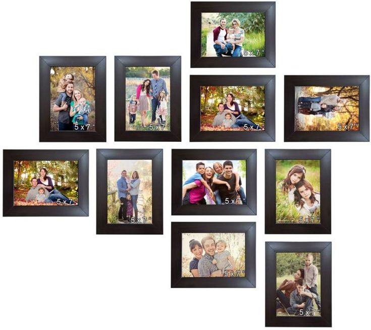Trends on Wall Acrylic Photo Frame
