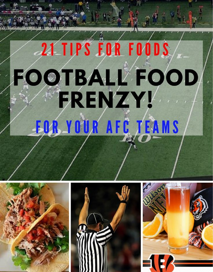 Toni has really outdone herself by finding great tips for football food for ALL the NFL teams. This post has all the AFC teams- fun ideas. To see her NFC Game-Day foods, go here: https://www.tipsfromtoni.com/21-game-day-foods-for-nfc-teams/