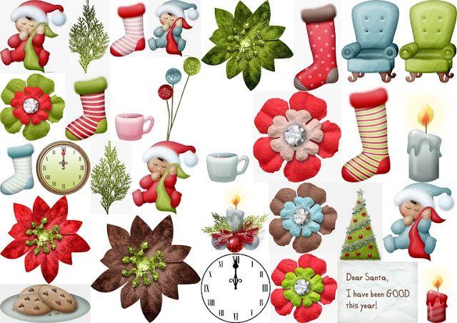 Clipart Primera Navidad.