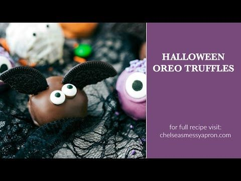 5-Ingredient Halloween Oreo Truffles - Chelsea's Messy Apron