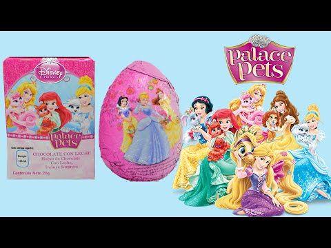 Huevo Sorpresa Disney Princesa Palace Pets en Español   JuguetesYSorpresas - YouTube