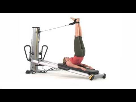 Total Gym Exercise: Pilates - Dynamic Leg Pulley Work - YouTube