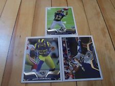 2013 Topps St. Louis Rams (3) Card Lot JAMES LAURINAITIS CORTLAND FINNEGAN NFL