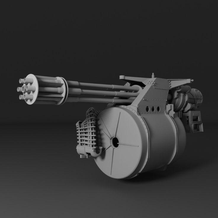 3D M61 Vulcan - 3D Model