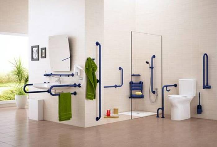 diseño de baños para discapacitados y minusvalidos                                                                                                                                                                                 Más