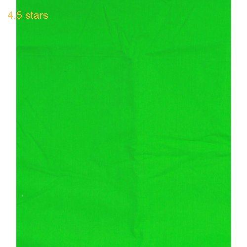 CowboyStudio Photography 100% Cotton 10 X 13 Chroma Key Green Muslin Backdrop