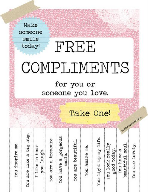 I believe in random acts of kindness..how nice are these?