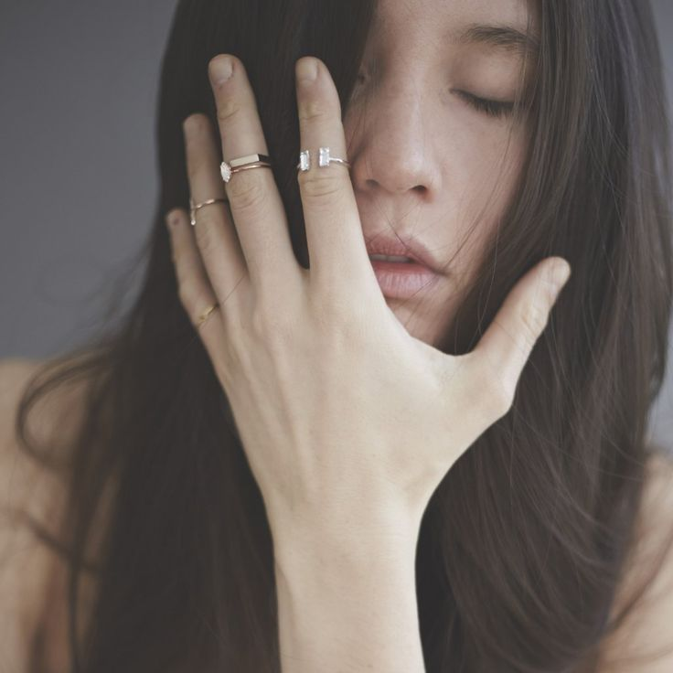 Double Baguette Ring - Clear Crystal - Bing Bang NYC - 8