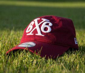 6x6 Lacrosse Designer @neweracaps lacrosse hat (Cardinal)