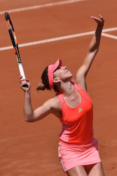 Simona Halep Photos - The Internazionali BNL d'Italia 2015 - Day Four - Zimbio