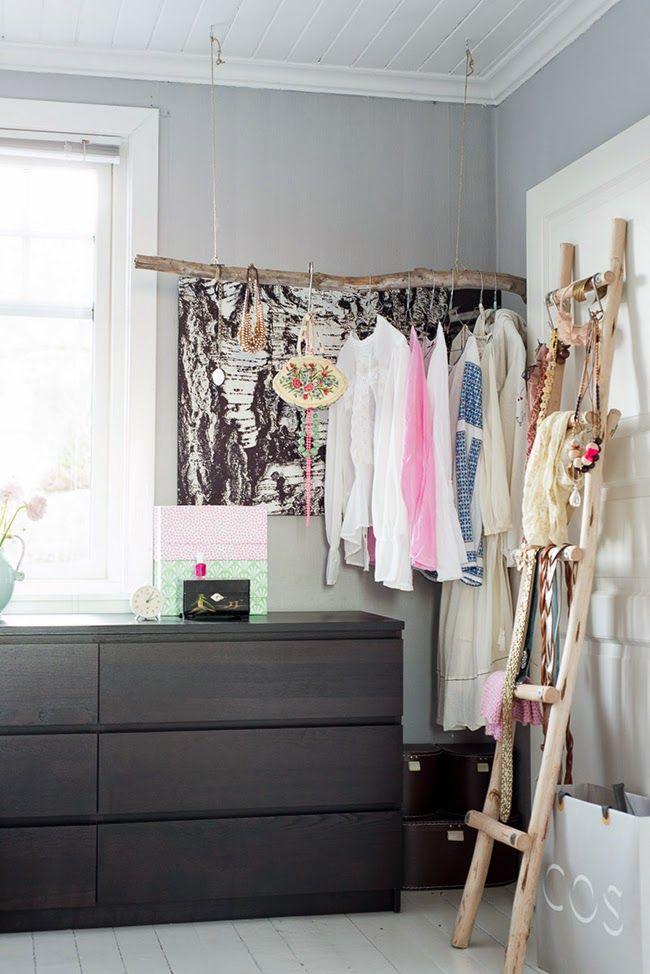 Como hacer un vestidor con estilo LOW COST!