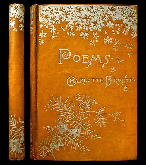 IsFive Books: Various Turn of the Century Decorative Cloth Publisher Bindings Part 2 Charlotte Bronte Poems
