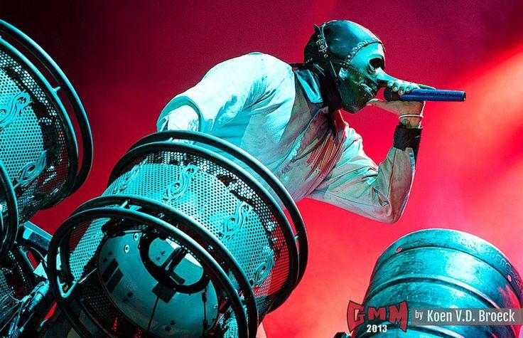 Slipknot @Graspop 2013