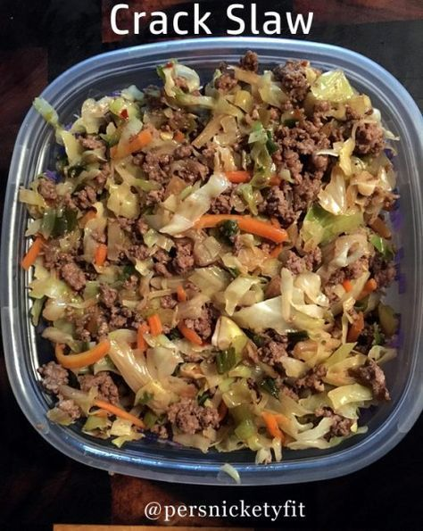 Low Carb Crack Slaw Recipe Trying to keep the carbs down is hard, especially on the go. The easiest way to make sure of your crab count is to just make the food yourself. There are bars and baked goods that will help but just in case you are in a skillet mood, Low Carb … Continue reading »