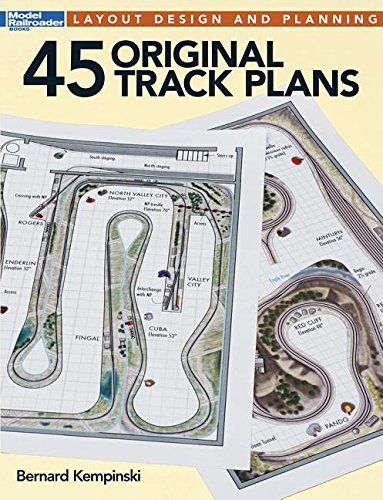 45 Original Track Plans (Model Railroader)... This book features 45 original track plans created by respected author Bernard Kempinski. None of these track plans have been published before, so modelers will get an exclusive look at all-new material.