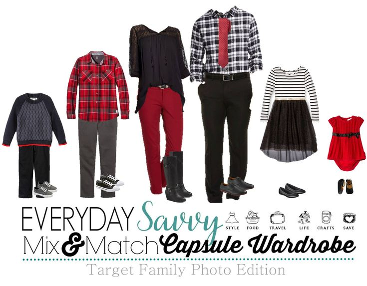 Here are some great ideas for coordinating family photo outfits. Even if you are not getting portraits taken, these are fun outfits for this winter and the holidays.