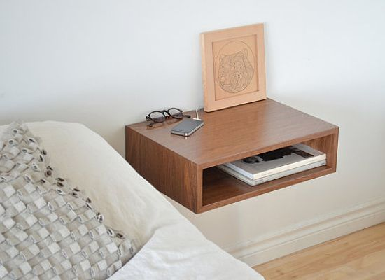 Bedside storage is a must. Where else would you set a glass of water, nightly reading, phone, and alarm clock before settling in for slumber? And in a room so personal as your bedroom, don