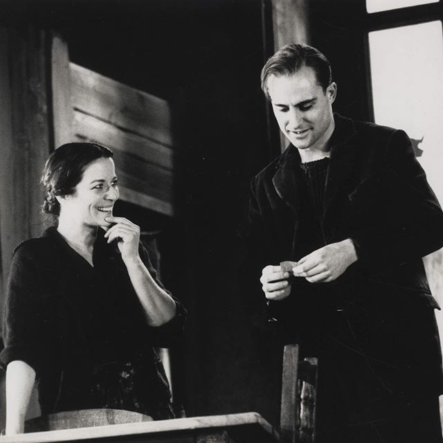 #tbt to Mark Strong's first time at the National Theatre, playing Errico in 1991's Napoli Milionaria. Clare Higgins played Amalia.  Mark's current show, #TheRedBarn, begins previews one week today.  #nationaltheatre #theatre #theater