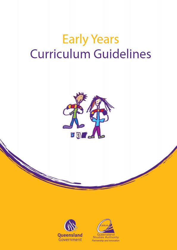 Early Years Curriculum Guidelines (2006).  Queensland Prep teachers continue to use the Queensland Early Years Curriculum Guidelines to plan, teach, assess and report on the early learning areas where the Australian Curriculum is not yet available for implementation.  The Early Years Curriculum Guidelines (EYCG) provide teachers with a framework for interacting with children, and planning, assessing and reflecting on an effective Preparatory Year curriculum.
